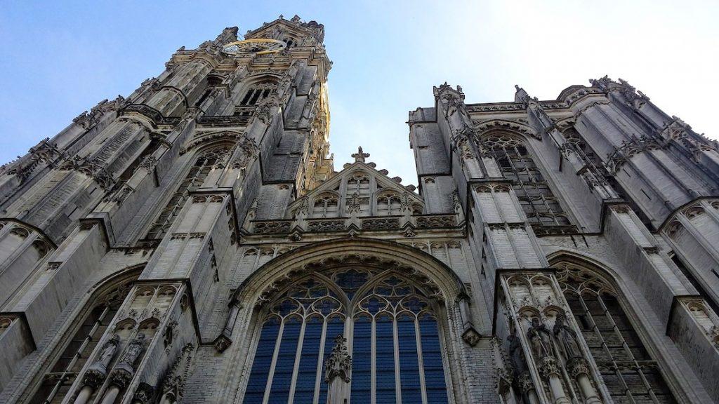 antwerp katedrali gotik mimari
