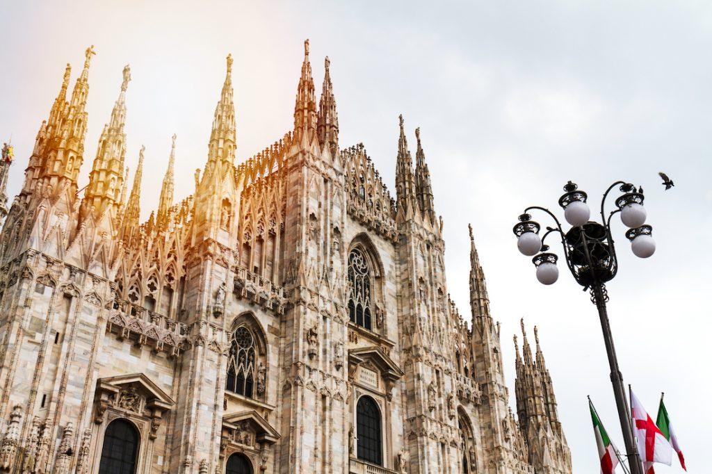 milano gotik mimari