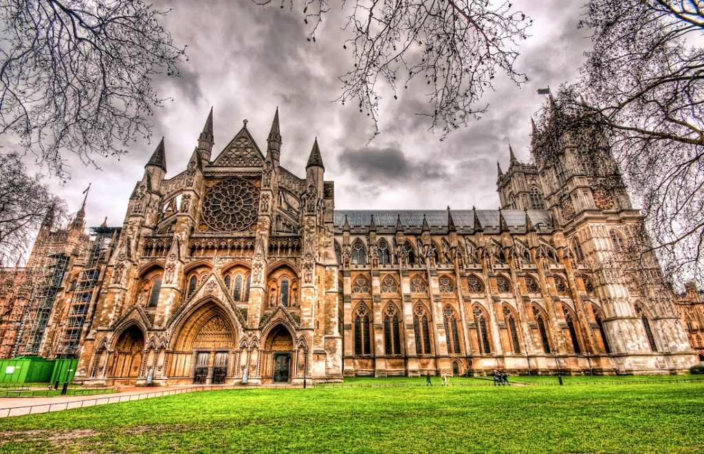 westminster abbey gotik mimari